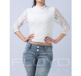 T5154-157_TE LACE FLORAL FUNKY WHITE