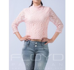 T5158-161_TE LACE FLORAL FUNKY_PINK