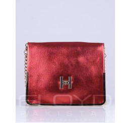 HB0030-C_GG1303296_H BUCLE_RED WITH CHAIN